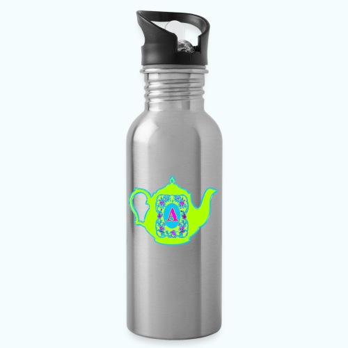 Wonders & Madness Tea Party - Water bottle with straw