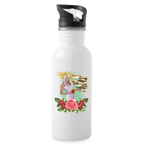 Mama RuPaul - Botella cantimplora con pajita integrada