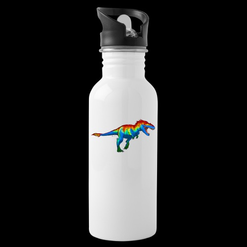T-Rex - Water bottle with straw