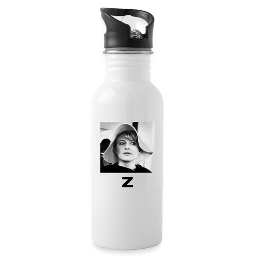 Monica Z - Vattenflaska med integrerat sugrör
