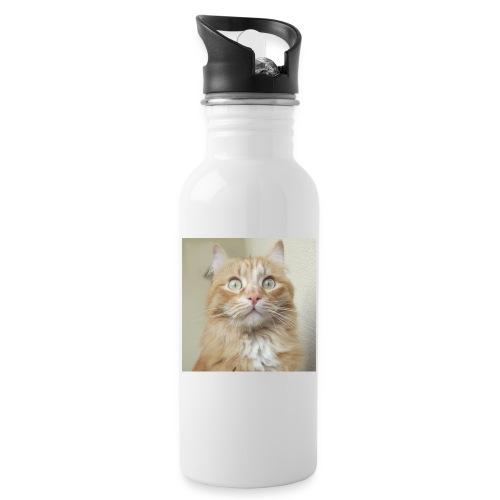Gatto Ninni - Borraccia con cannuccia integrata