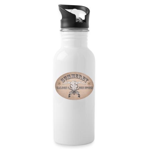 Summerby Saloon - Trinkflasche mit integriertem Trinkhalm