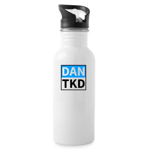 dan tkd logo large jpg - Water bottle with straw