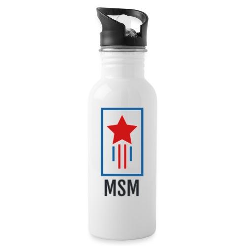 MSM SHOOTING STAR - Drikkeflaske med integreret sugerør