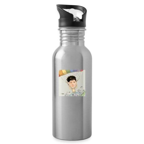 Wanderingoak629 - Water bottle with straw