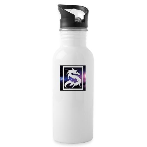 Dragon kong - Vattenflaska med integrerat sugrör
