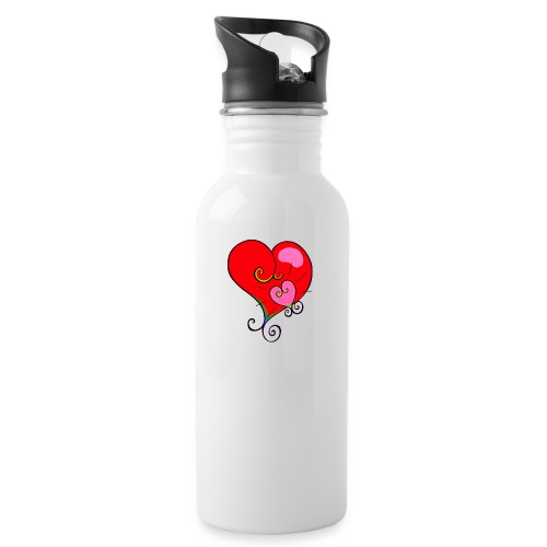 Magic Mother & Magic Child - Water bottle with straw