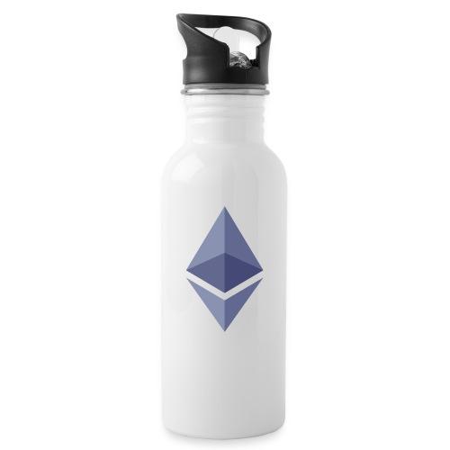 Etherum - Vattenflaska med integrerat sugrör