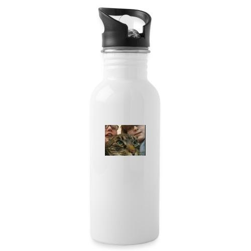JAG SKOE - Drikkeflaske med integrert sugerør