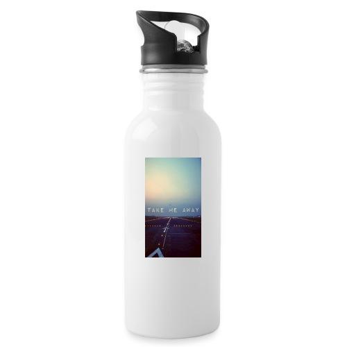 Take me away - Vattenflaska med integrerat sugrör