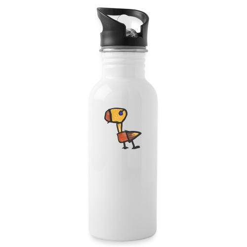 Baby Dino - Water bottle with straw