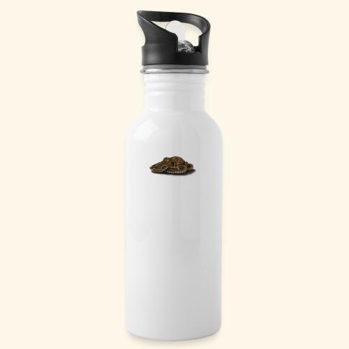 Oktopus - Trinkflasche mit integriertem Trinkhalm