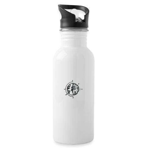 KOMPAS OFFICIAL - Drinkfles met geïntegreerd rietje