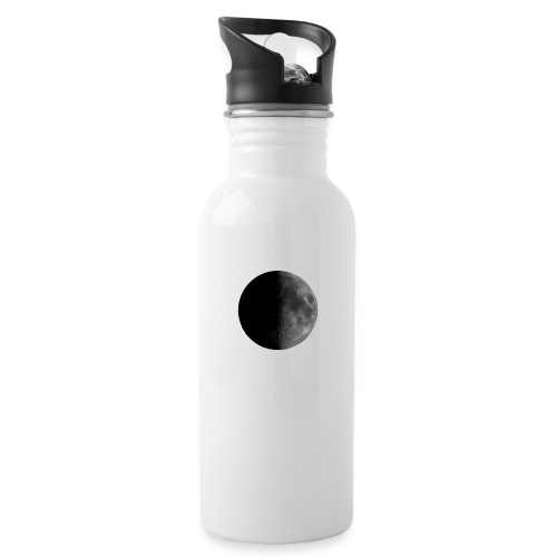 Moon - Water bottle with straw