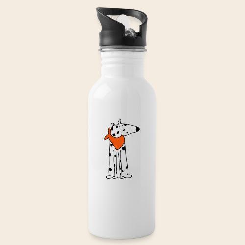 mignon dalmatien - Gourde avec paille intégrée