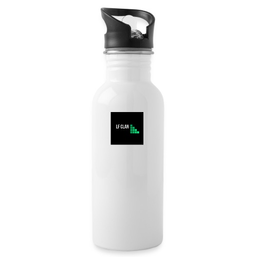 LF CLAN - Vattenflaska med integrerat sugrör
