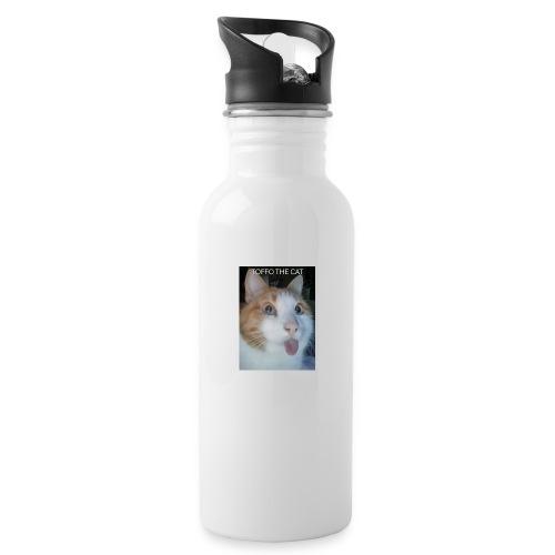 TOFFO THE CAT - Juomapullo, jossa pilli