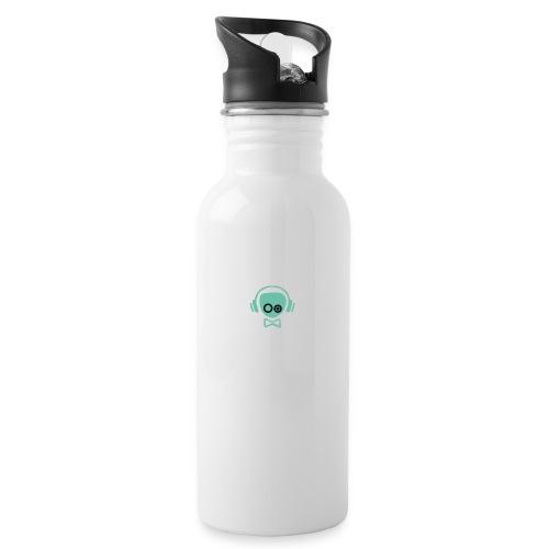 Gamer Design - Drikkeflaske med integreret sugerør