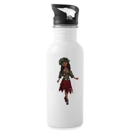 elf - Water bottle with straw