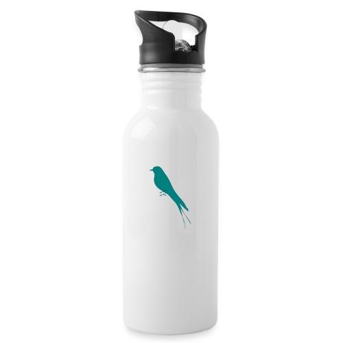 Golondrina - Botella cantimplora con pajita integrada