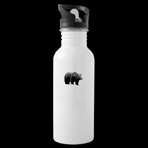 #bärik - Trinkflasche mit integriertem Trinkhalm