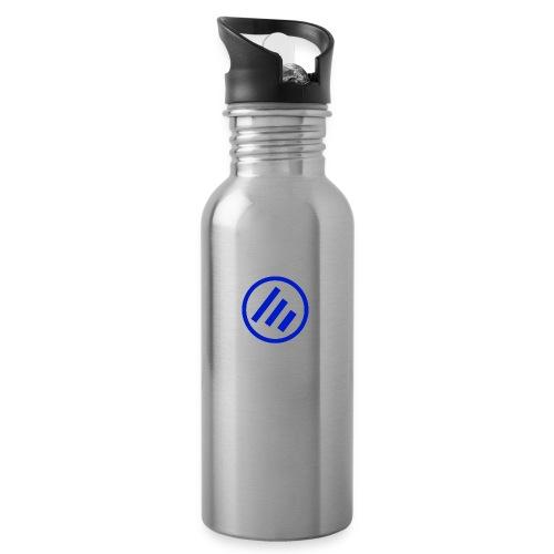 Ecsotic Sounds Friendly pack p of joy - Trinkflasche mit integriertem Trinkhalm
