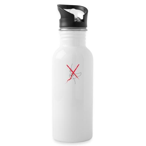 xwo - Drikkeflaske med integrert sugerør