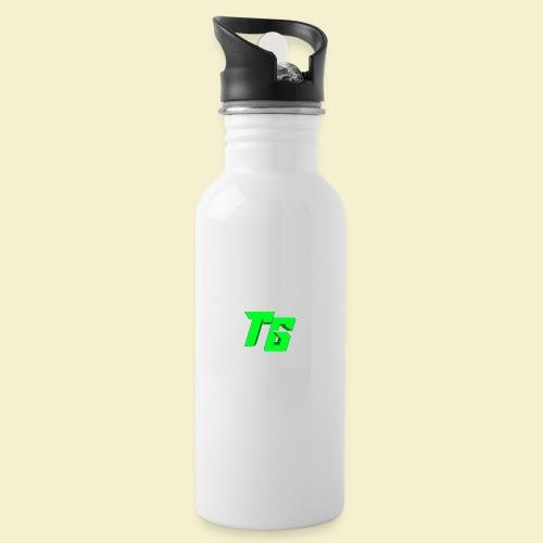 TristanGames logo merchandise - Drinkfles met geïntegreerd rietje