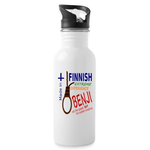 FINNISH-BENJI - Water bottle with straw