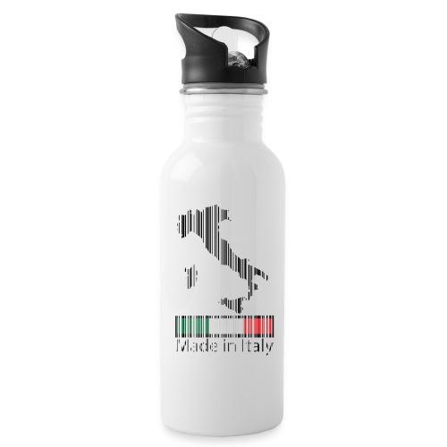 Made in Italy - Borraccia con cannuccia integrata