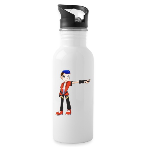 Terrpac - Water bottle with straw