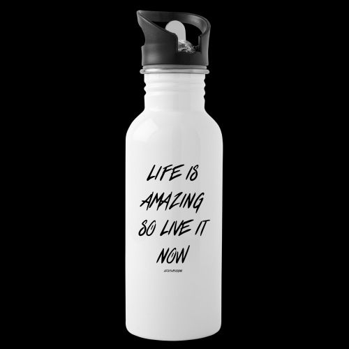 Life is amazing Samsung Case - Water bottle with straw