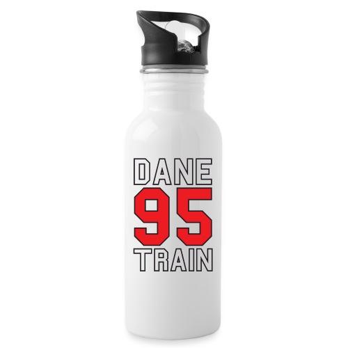 Dane Train #95 - Trinkflasche mit integriertem Trinkhalm