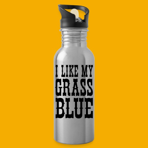 bluegrass - Drinkfles met geïntegreerd rietje