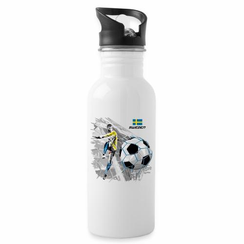 FP22F 16 SWEDEN FOOTBALL - Juomapullo, jossa pilli