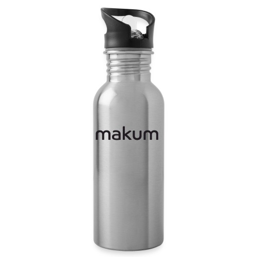 Makum teksti - Juomapullo, jossa pilli