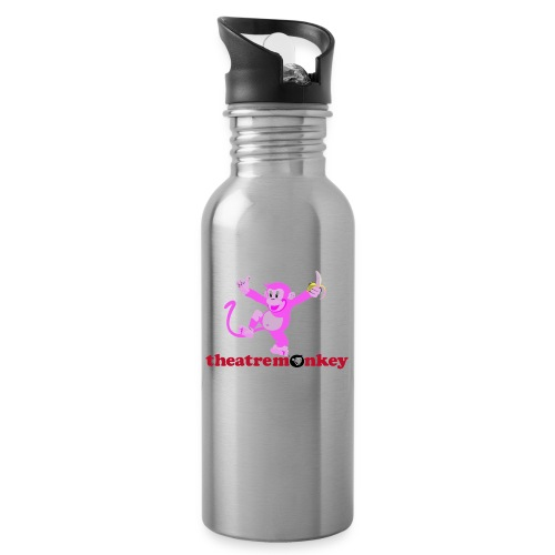 Sammy is In The Pink! - Water bottle with straw