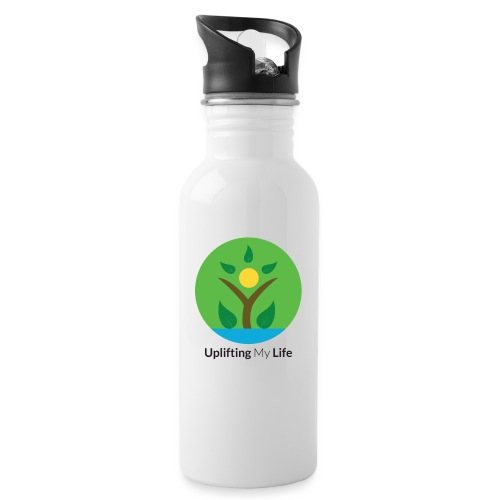 Uplifting My Life Official Merchandise - Water bottle with straw
