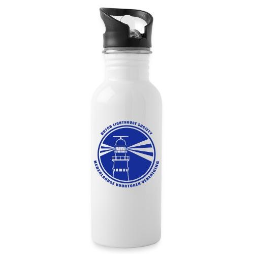 NVV Logo - Drinkfles met geïntegreerd rietje