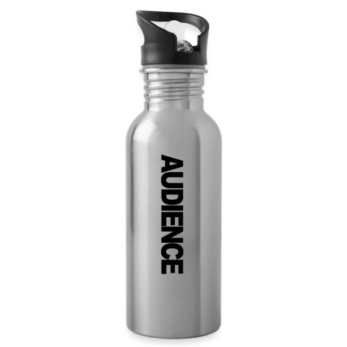 audienceiphonevertical - Water bottle with straw