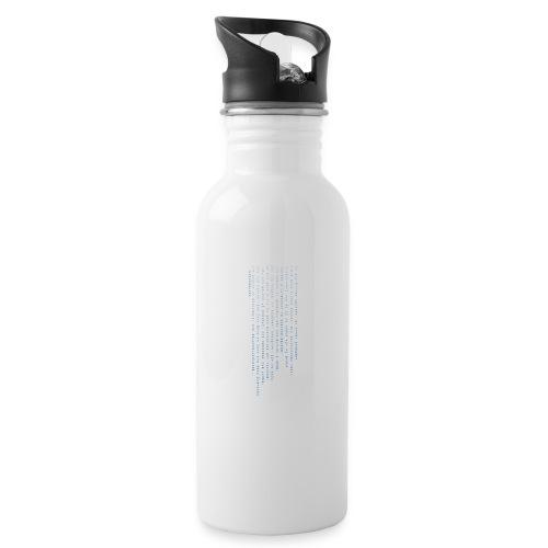 erotokritix - Trinkflasche mit integriertem Trinkhalm