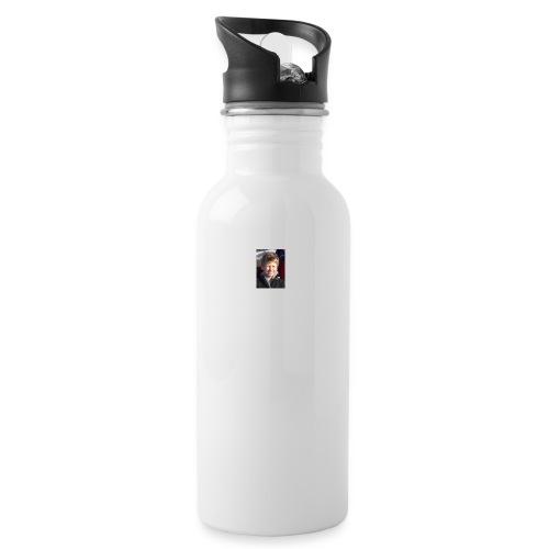 300 - Drikkeflaske med integrert sugerør