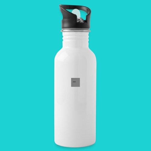 logo-png - Water bottle with straw