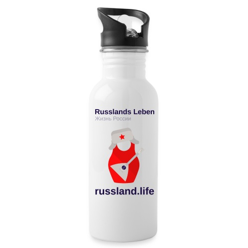 russland.LIFE Edition - Water bottle with straw