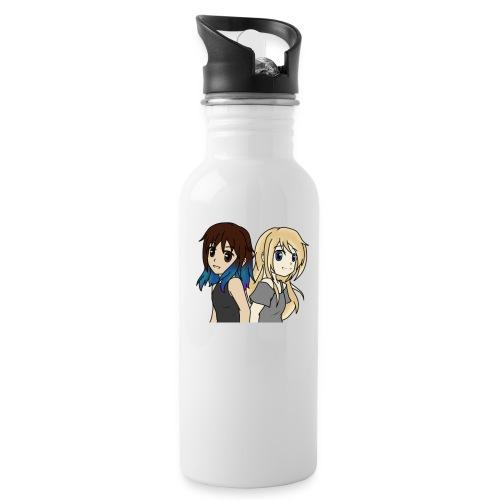 AnnaDuzz Youtube - Drikkeflaske med integreret sugerør