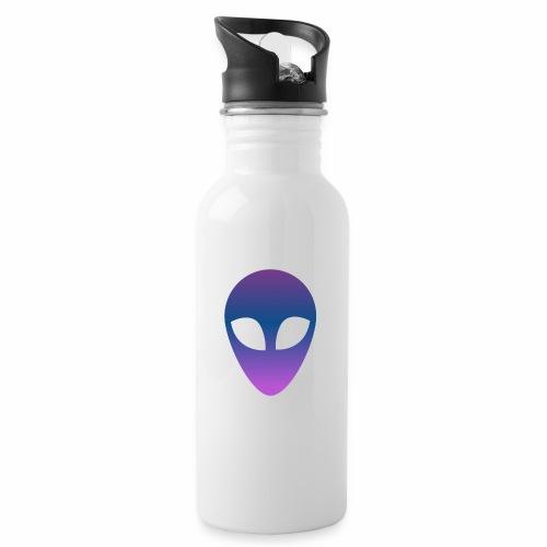 Aliens - Botella cantimplora con pajita integrada