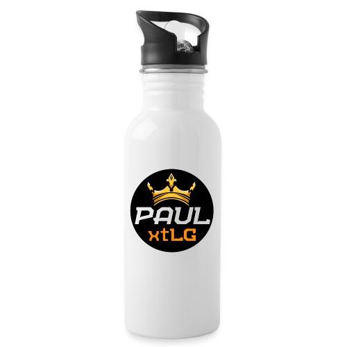 PaulxtLG - Trinkflasche mit integriertem Trinkhalm