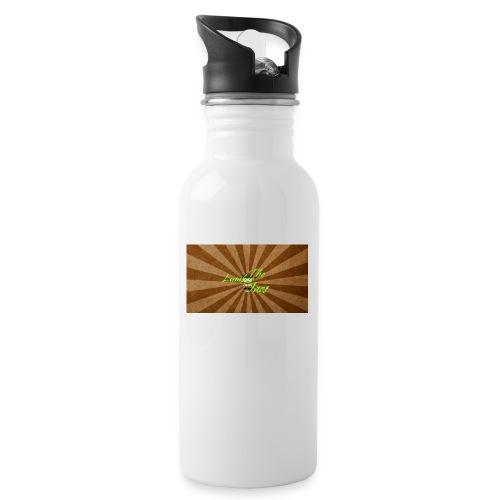 THELUMBERJACKS - Water bottle with straw