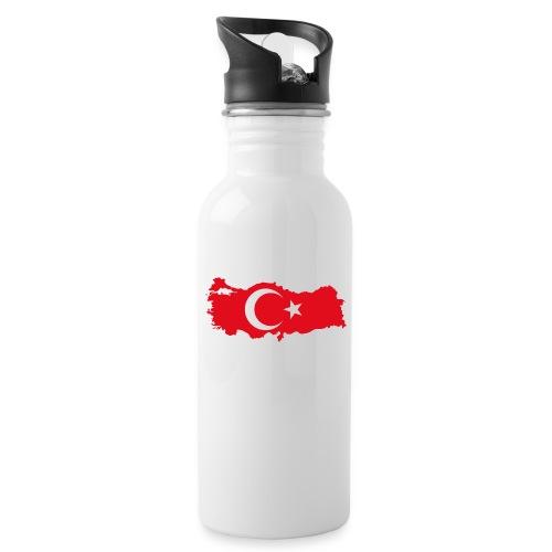 Tyrkern - Drikkeflaske med integreret sugerør