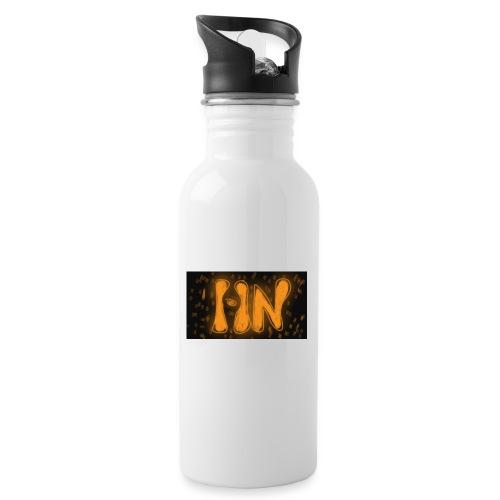 Logró de tienda - Botella cantimplora con pajita integrada